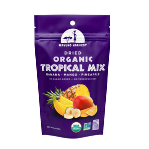 Mavuno Harvest Dried Organic Tropical Fruit Mix, 2 oz. (Case of 6)
