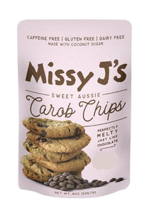 Missy J's Carob Chips, 12 oz (Pack of 3)