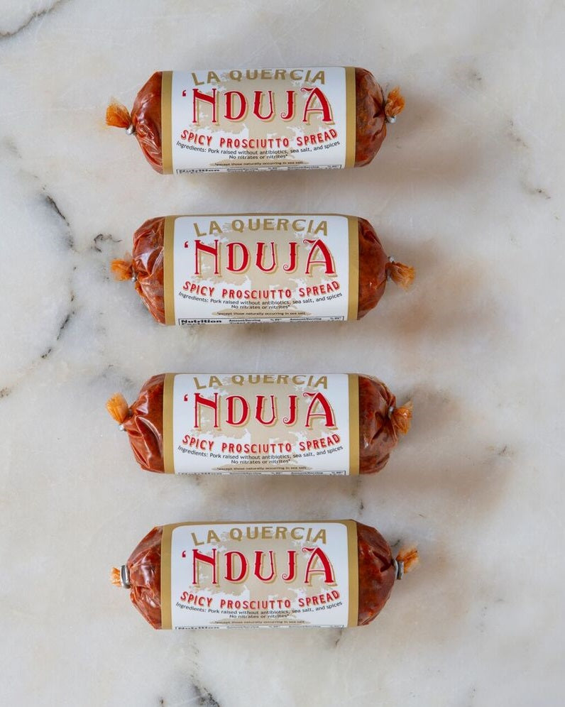La Quercia 'Nduja Americana Spread, 4 oz (Pack of 4)