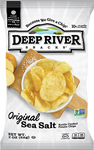Deep River Original Salted Chips, 2 oz (Case of 24)