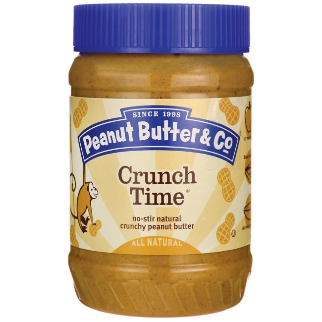 Peanut Butter & Co. Crunch Time, 16 oz. (Case of 6)