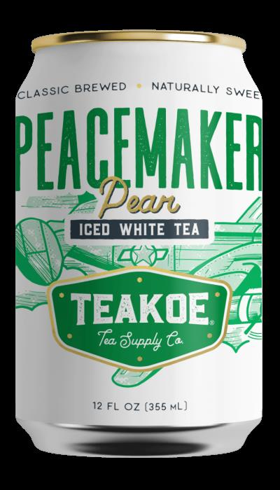 Teakoe Peacemaker Pear Iced White Tea - 12 Fl Oz (Case of 12)