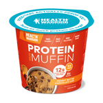 Health Warrior, Mug Muffin, Peanut Butter Chocolate Chip, 2.01 Oz (Case of 6)