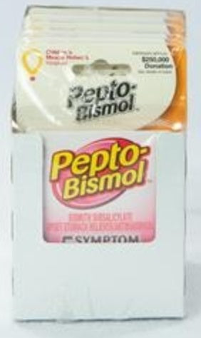 Pepto Bismol Chewable, 6 Count