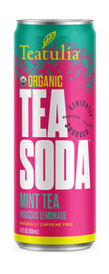 Teatulia Mint Tea Soda Tea, 12/12 oz.