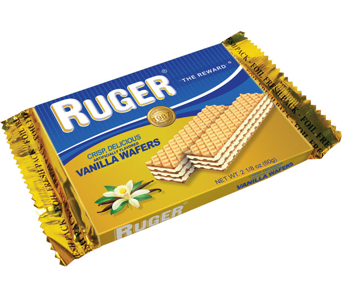 Ruger Austrian Vanilla Wafers, 2.125 oz. (Case of 12)