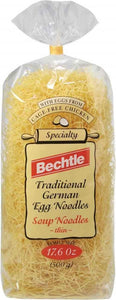 Bechtle German Egg Noodle Spaetzle, 17.6 oz (Case of 12)