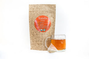Teatulia Ginger Herbal Infusion Tea, 50/2 gr