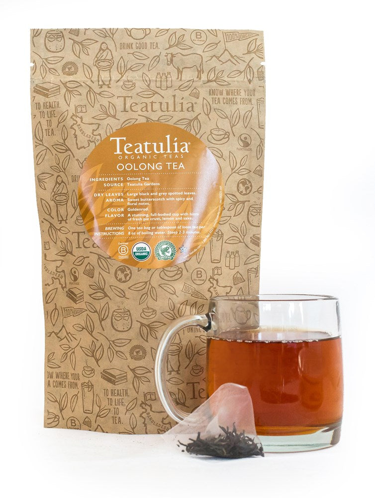 Teatulia Oolong Tea, 50/2 gr