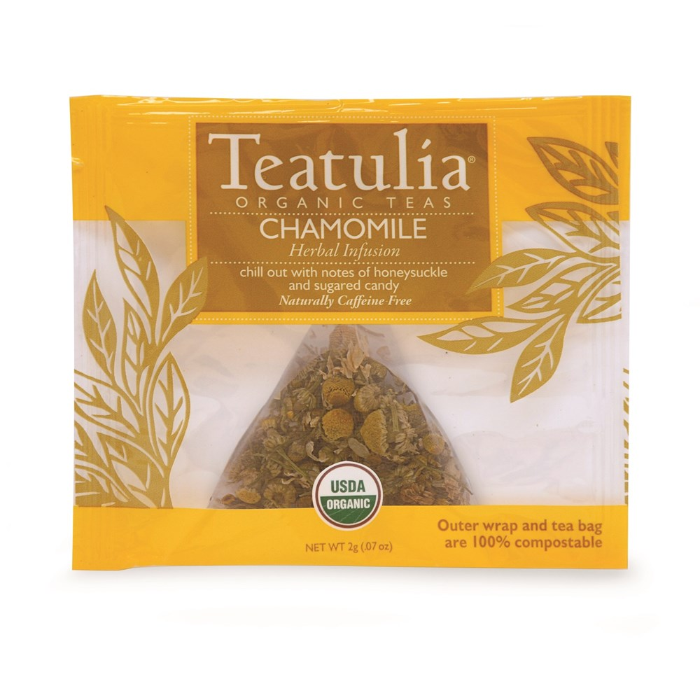 Teatulia Chamomile Herbal Infusion Tea, 50/2 gr