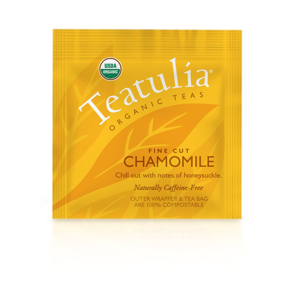 Teatulia Chamomile Herbal Infusion Tea, 50/1.6 gr