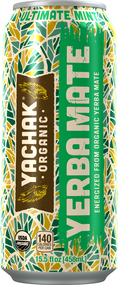 Yachak Yerba Mate Ultimate Mint, 16 Oz. (Case of 12)