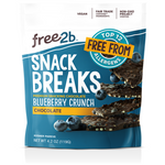 Free2b Foods Chocolate Blueberry Crunch Snack Breaks, 4.2 oz. (Pack of 6)