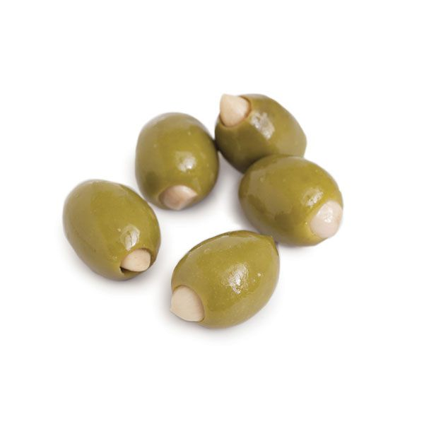 Divina Garlic Stuffed Olives, 7.8 oz. (Case of 6)