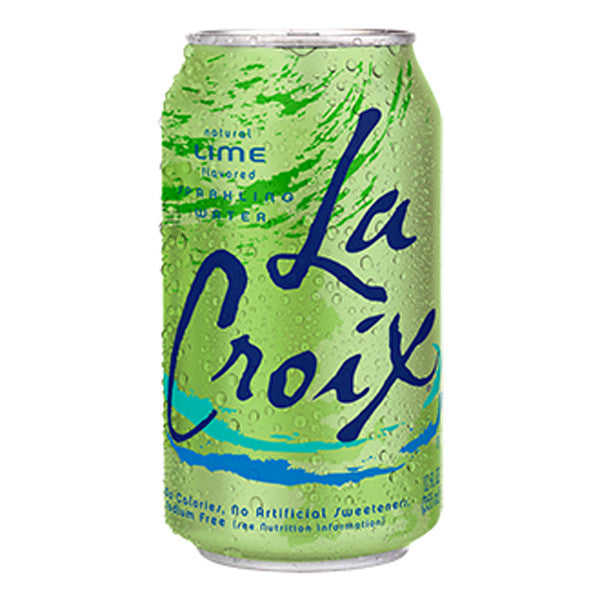 LaCroix Lime, 12 oz. (Pack of 24)