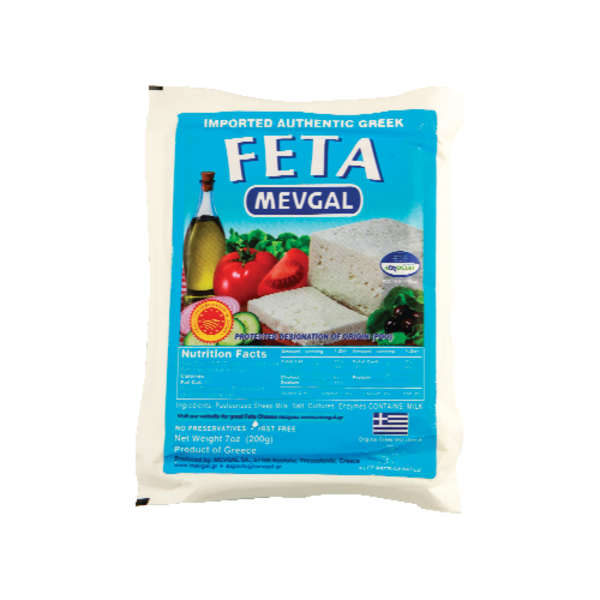 Mevgal Sheep Feta, 7.1 oz. (Case of 12)