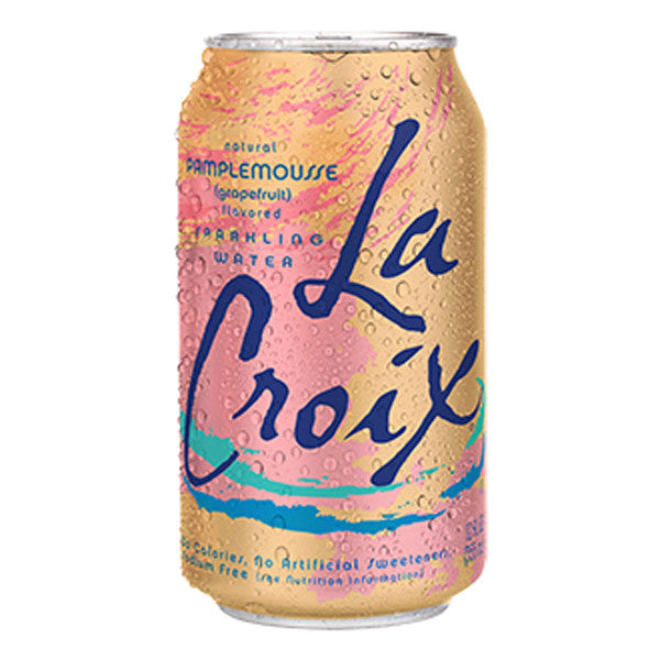 LaCroix Grapefruit Water, 12 oz (Case of 24)