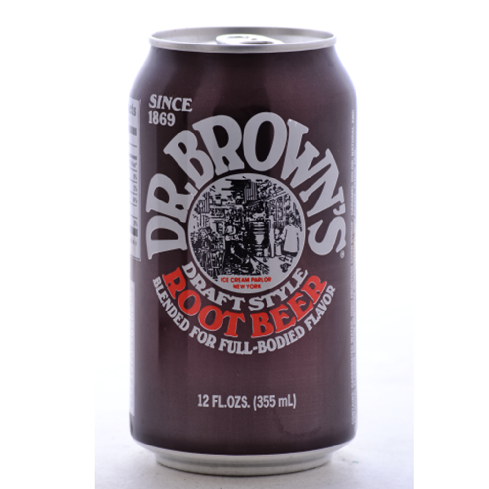 Dr. Brown's Soda, Root Beer, 24/12 Oz