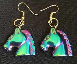 Rhiannon's Horse Earrings
