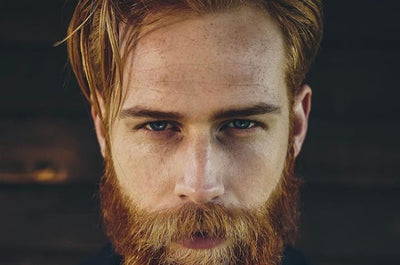 Male Model Gwilym Pugh Trusts His Skin to Geologie