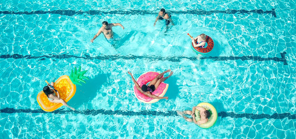 how to protect your skin from sun damage pool party