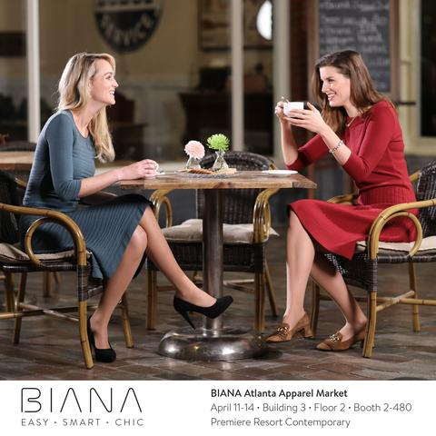 Save the date: BIANA at Atlanta Apparel Market