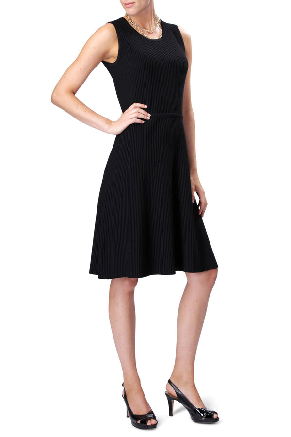 ANYWHERE Knitted Dress (Black)