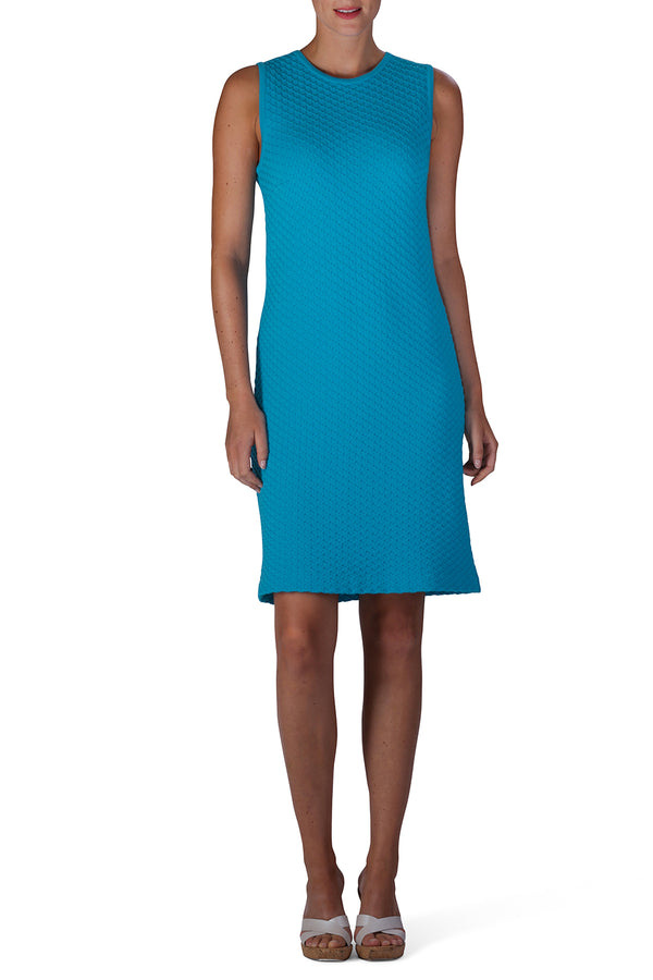 FAB Knitted Dress (Turquoise)