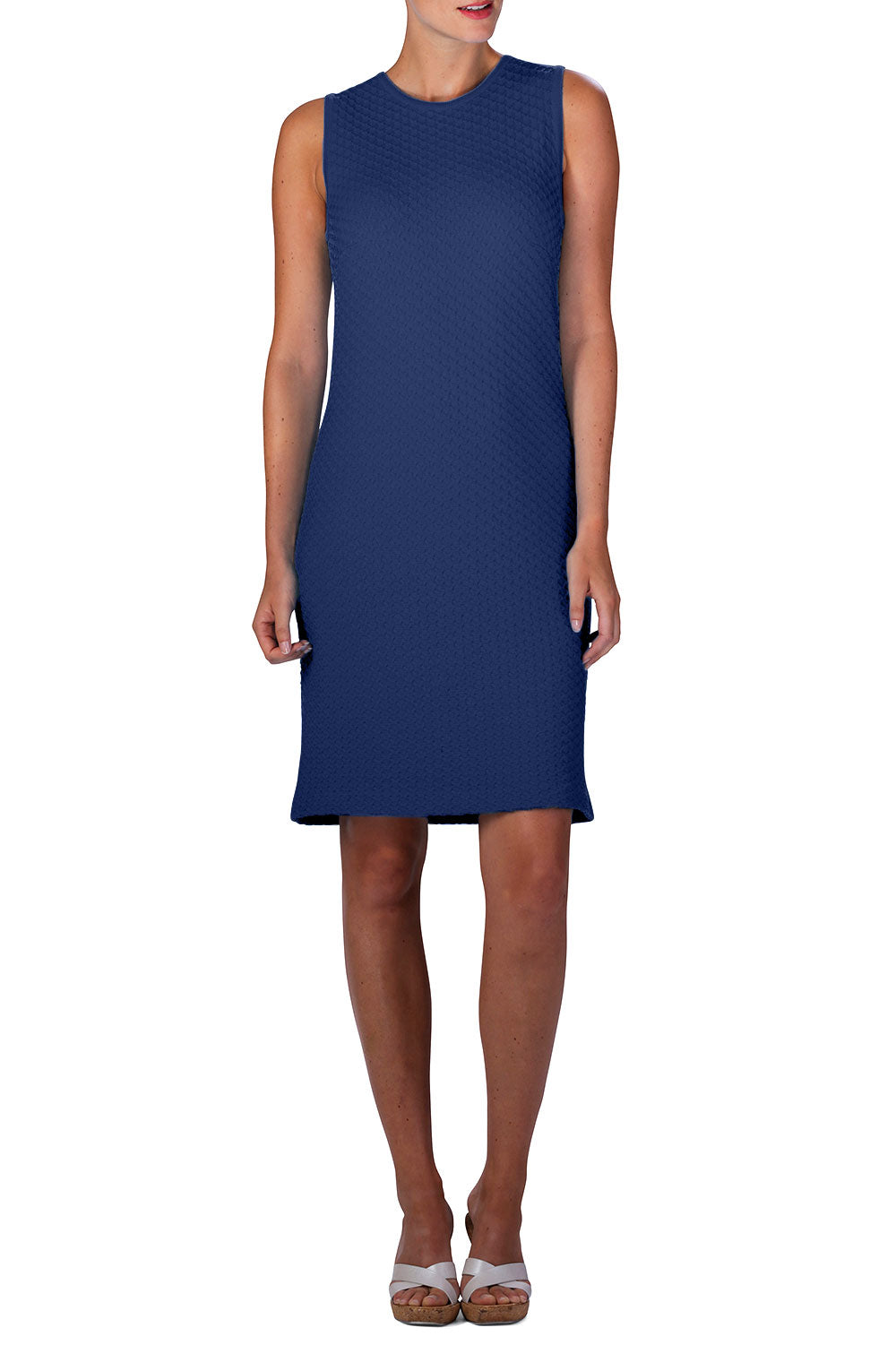 FAB Knitted Dress (Navy)