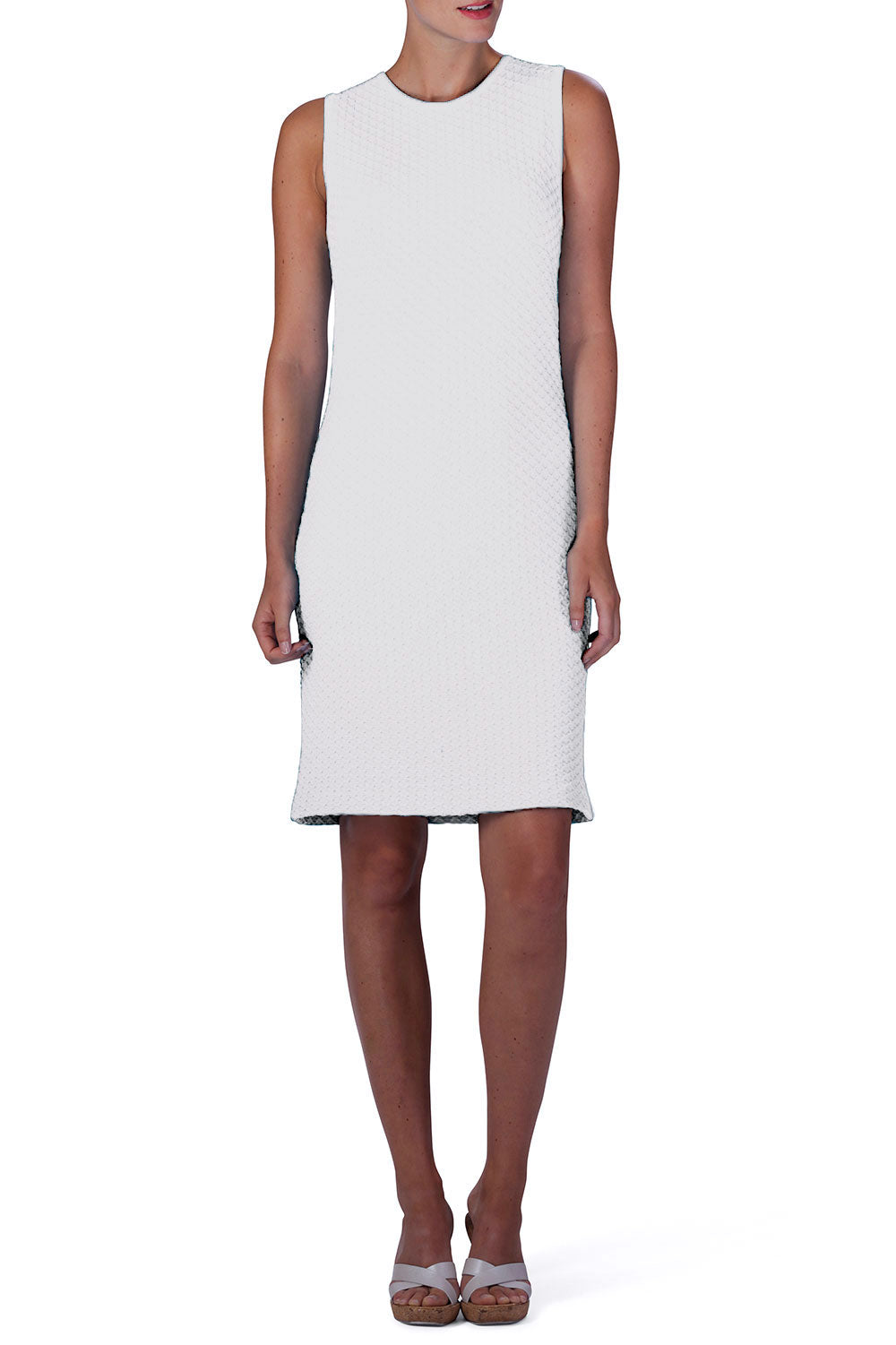 FAB Knitted Dress (White)