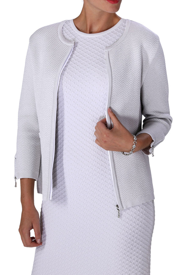 ZIP-POWER Jacket (White)