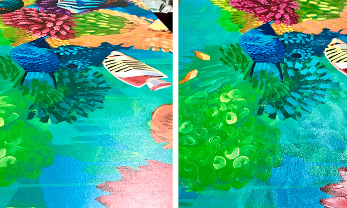 Original, Giclée or Embellished Giclée… What's the difference?