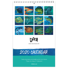 Load image into Gallery viewer, 2020 Calendar by Dora Knuteson