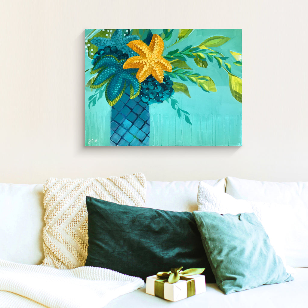 Bay Breeze - Sea Life Bouquet Art by Dora Knuteson