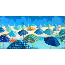 "Load image into Gallery viewer, ""Beach Blues"" by Dora Knuteson"