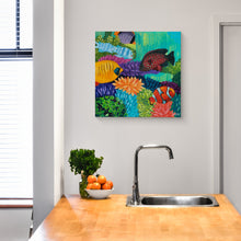 Load image into Gallery viewer, Carnival Coast - Coral Reef Art by Dora Knuteson