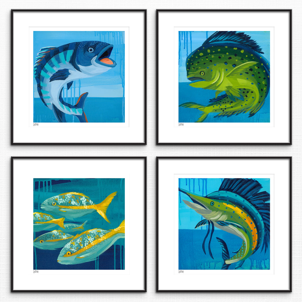 Clean Our Seas II Prints by Dora Knuteson