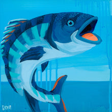 "Load image into Gallery viewer, ""Holy Mackerel"" by Dora Knuteson"