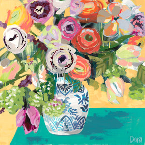 """Bohemian Bouquet"" by Dora Knuteson"