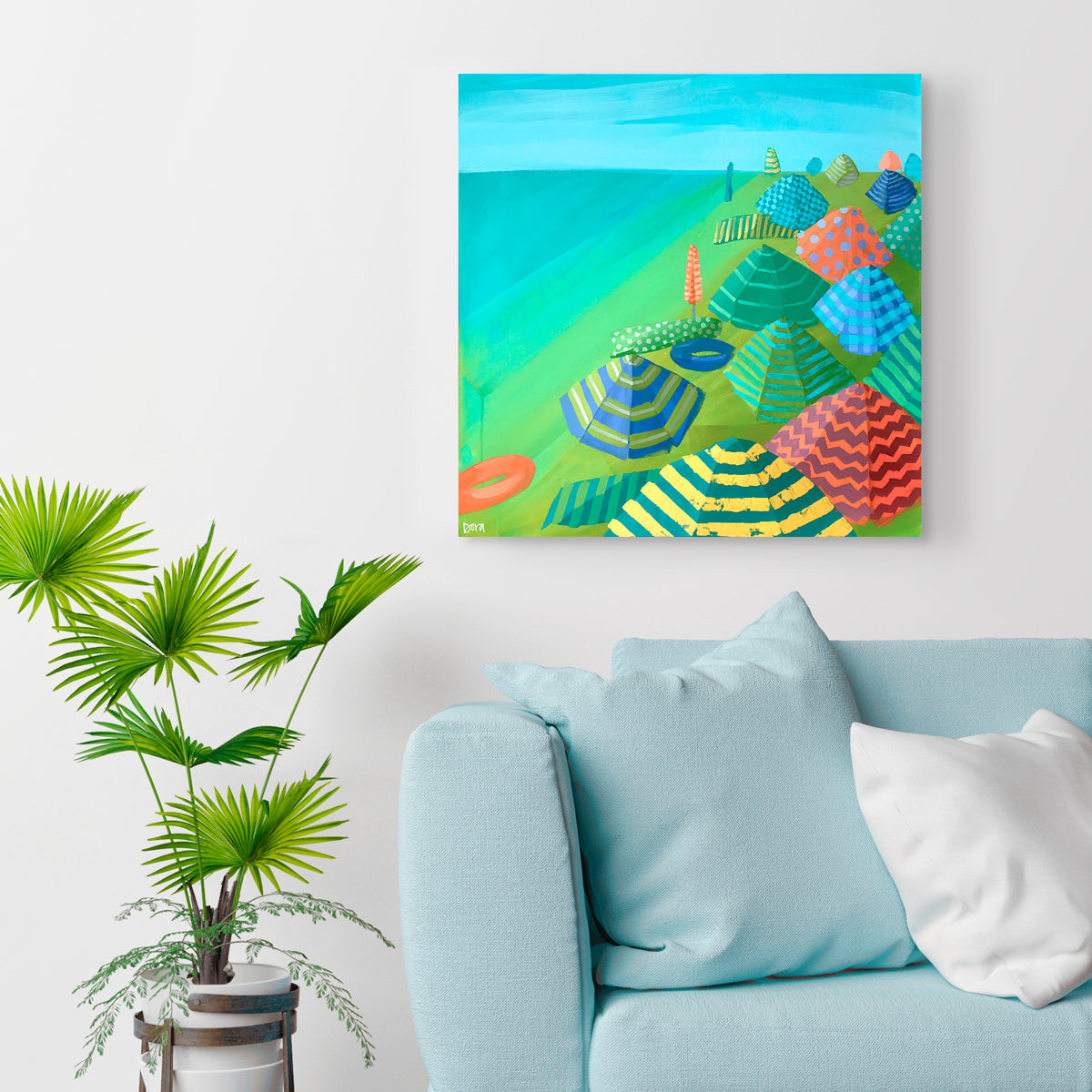 Wall Preview of Paradise Coast by Dora Knuteson