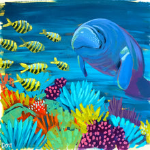 Load image into Gallery viewer, Manatee Study #3 by Dora Knuteson