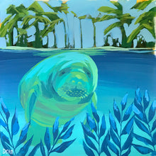 Load image into Gallery viewer, Manatee Study #6 by Dora Knuteson
