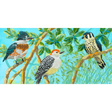 "Load image into Gallery viewer, ""Three Little Birds"" by Dora Knuteson"