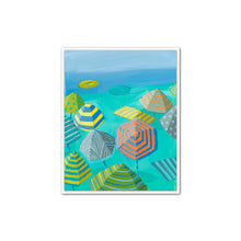 "Load image into Gallery viewer, Preview of ""Seafoam Sands I"" in White Float"