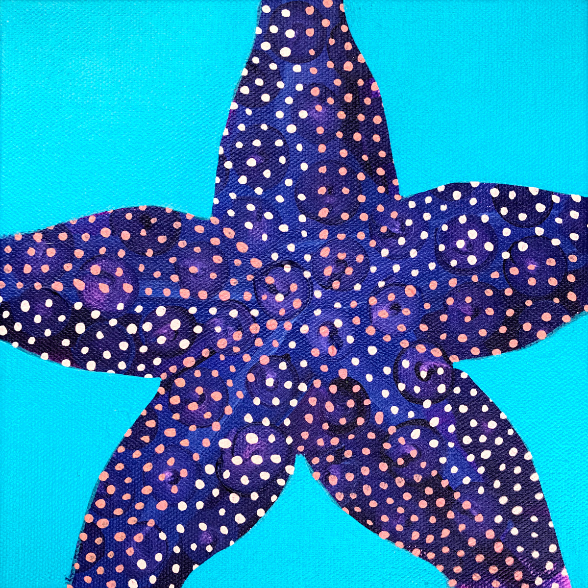Starfish Art by Dora Knuteson