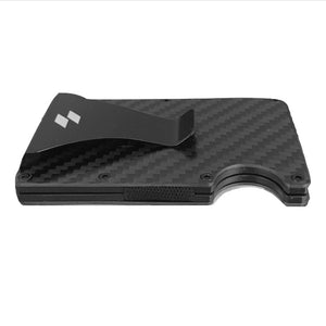 Matte Black Carbon Fiber Wallet