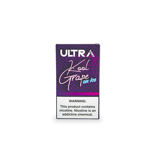 Ultra Max Kool Grape on Ice Vape Pod