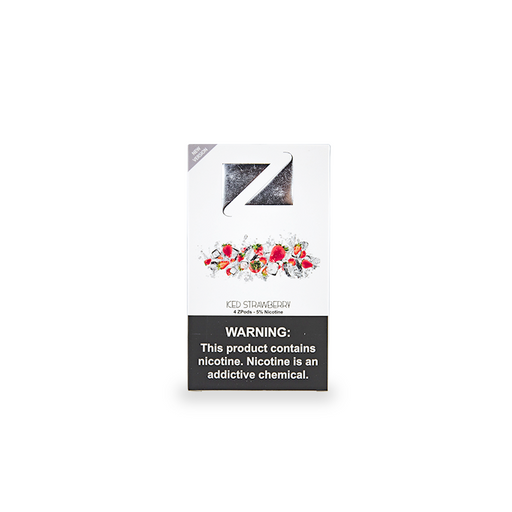 Ziip Pods Iced Strawberry Vape Cartridges
