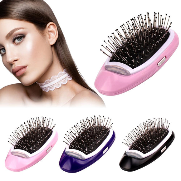 Portable Ionic Hair Brush