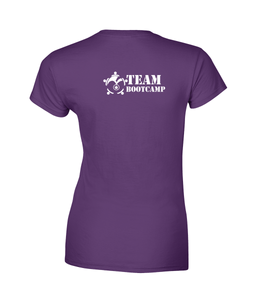#ClassicCollection - Ladies Fitted Soft Style T-Shirt | Team Bootcamp